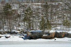 Rock Climbing Photo: Zach Bramel sending The Best Touch on the River Bo...