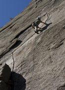 Rock Climbing Photo: Incastromania 5.10 a Valle del Orco Italy