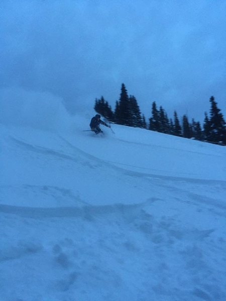 Rock Climbing Photo: Berthoud Pass 12/15/2016