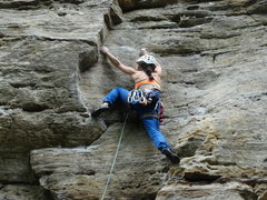 Rock Climbing Photo: Red river gorge, blues brothers wall