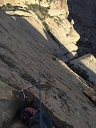 Rock Climbing Photo: 5th placement on Heliotrope pitch 4, and the first...