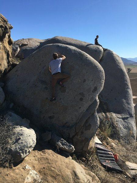 Rock Climbing Photo: Awesome slab!