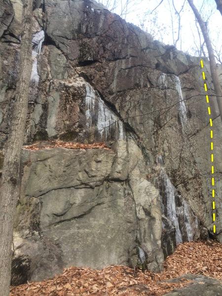 Rock Climbing Photo: Hippie