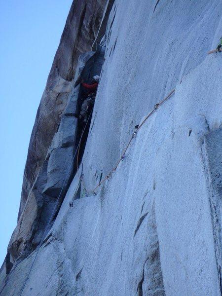 Rock Climbing Photo: Slot of Delight