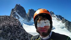 Rock Climbing Photo: Forgot my sunglasses...