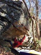 Rock Climbing Photo: Carter Smith on Pug Life