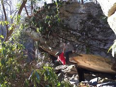 Rock Climbing Photo: Aaron Parlier on the FA of Unity