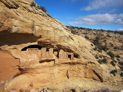 Rock Climbing Photo: One of many ruins tucked into the canyons on the e...