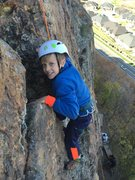Rock Climbing Photo: Hook em while they're young