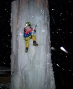 Rock Climbing Photo: Comfy night of fun ice routes. Open tomorrow and m...