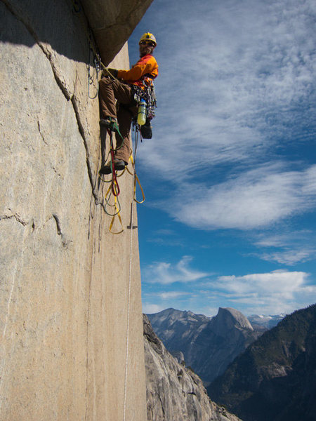 Rock Climbing Photo: Skot Richards on Genesis.