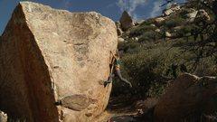 Rock Climbing Photo: Jim Morrison boulder.