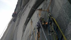 Rock Climbing Photo: Rubber Band Man