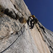 Rock Climbing Photo: Bearing Straights