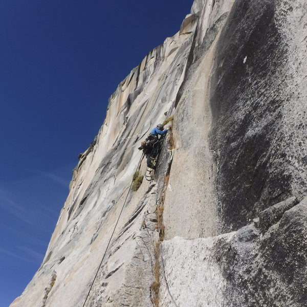 Rock Climbing Photo: Top of PO Wall