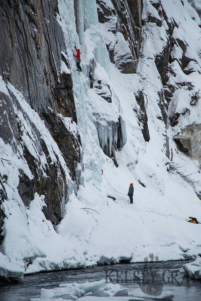 Rock Climbing Photo: Another great day in Keystone Canyon.