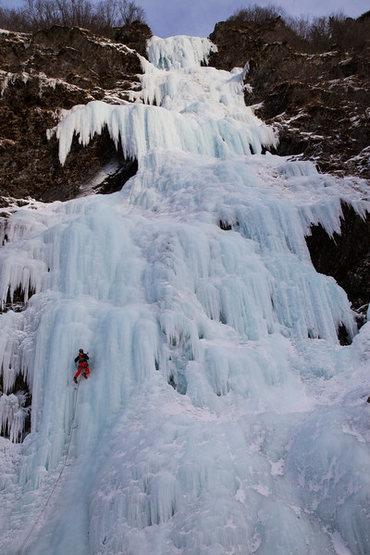 Rock Climbing Photo: Hero Ice!!
