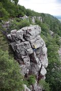 Rock Climbing Photo: A Jay Knower photo from his Devil's Lake guide...