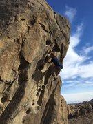 Rock Climbing Photo: White trash on White Trash