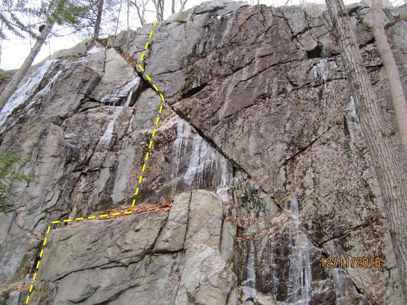 Rock Climbing Photo: Ankh
