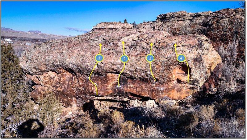 Rock Climbing Photo: 1. Finger Me.