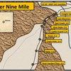 Lower Nine Mile Hill. Distances were measured from U.S. 50/CO Highway 141 junction.
