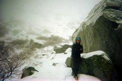 Rock Climbing Photo: Approaching Tuckermans Ravine