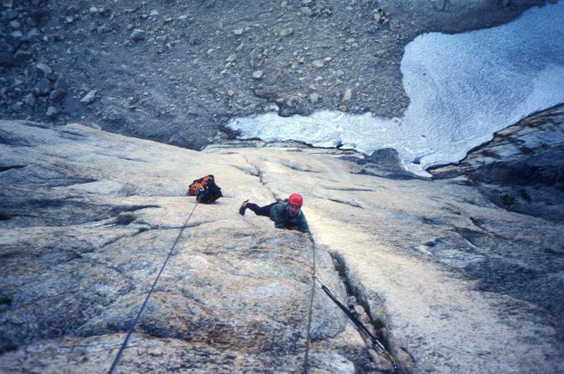 Rock Climbing Photo: With haul bag