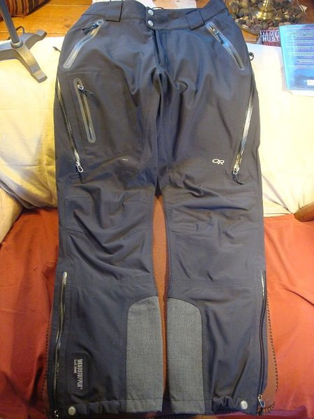 OR soft shell pants