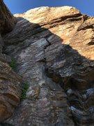 Rock Climbing Photo: Crack Face
