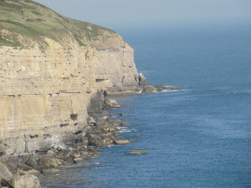 Swanage cliff line