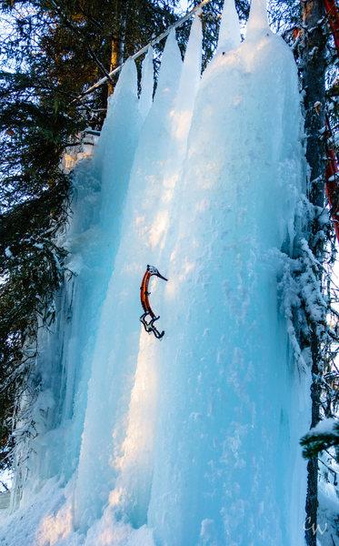 Rock Climbing Photo: Ice Ice Baby
