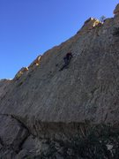 Rock Climbing Photo: View of the route in its entirety.