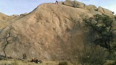 Rock Climbing Photo: Wide shot of Peanuts 1 through 5 (left to right). ...