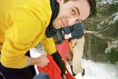 Rock Climbing Photo: Hiking the White Mounains