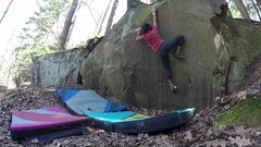 Rock Climbing Photo: _
