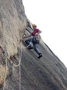 Rock Climbing Photo: Arocknaphobia (22) at the Flowstone Wall, Hazards,...