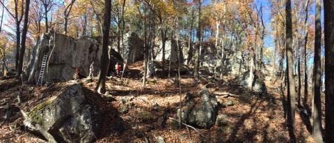 Rock Climbing Photo: Doing work!