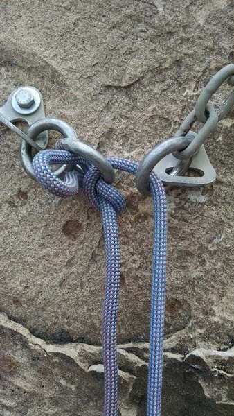 self knotting rope