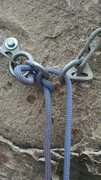 Rock Climbing Photo: self knotting rope