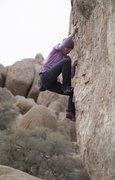 Rock Climbing Photo: Alexandria