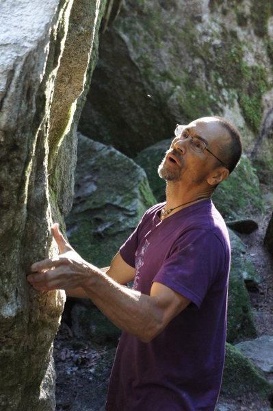 Rock Climbing Photo: Sensei