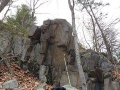 Rock Climbing Photo: Same arete.