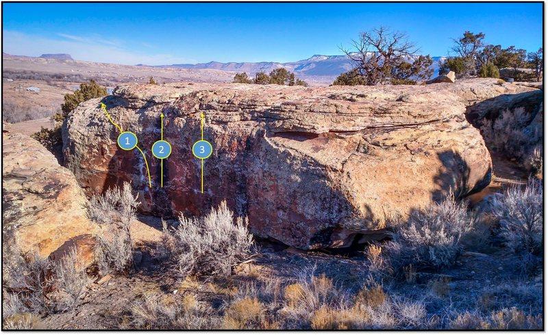 Rock Climbing Photo: 1. Turn the Environmental Knob.
