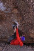 Rock Climbing Photo: Sneaky beta on SIN