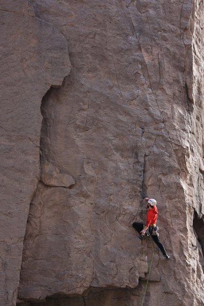 Rock Climbing Photo: Santana
