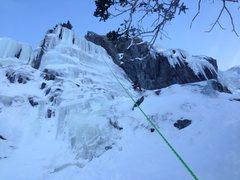 Rock Climbing Photo: Lincoln.
