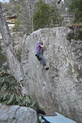 Rock Climbing Photo: Parlier on the FA of River of Earth