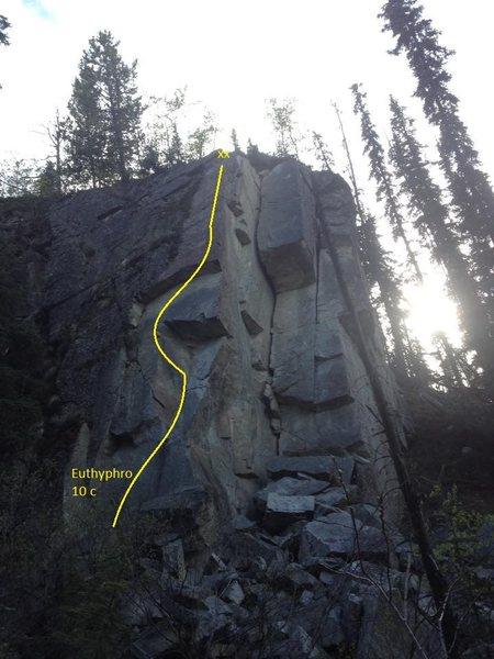 Rock Climbing Photo: Euthyphro