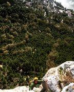 Mid way up Lluvia